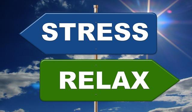 stres a relaxace na značkách
