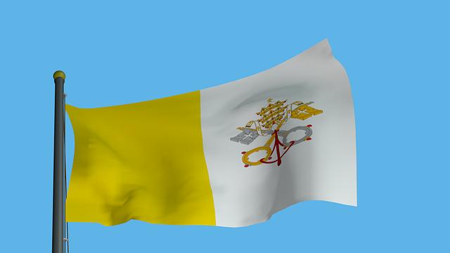 Vatikánská vlajka