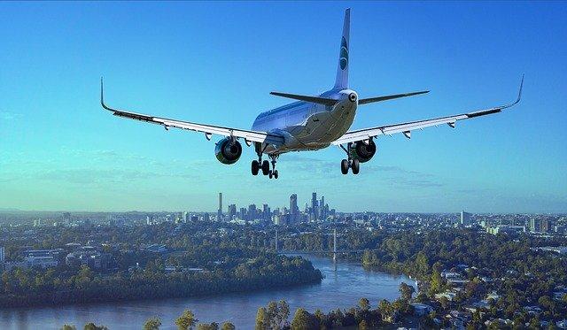 cestování, letadlo