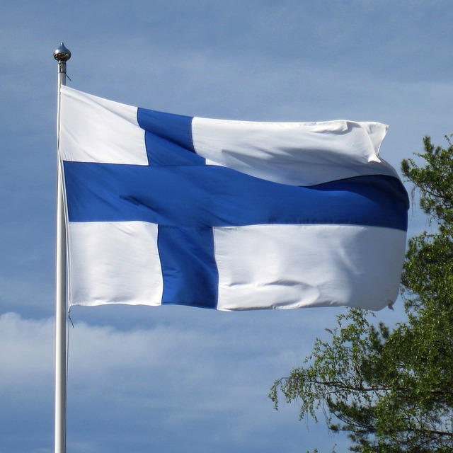 vlajka finska