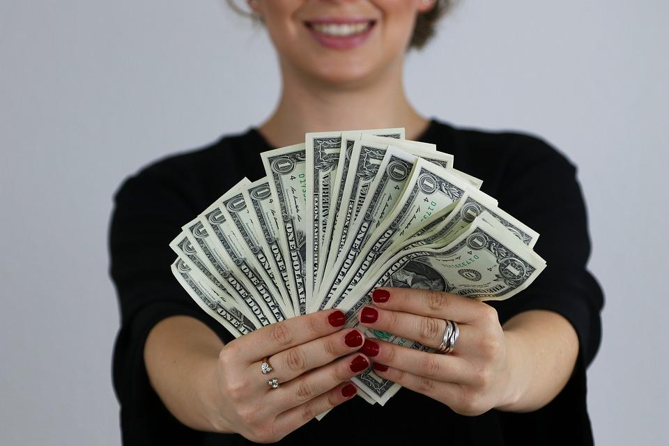 vějíř dolarů